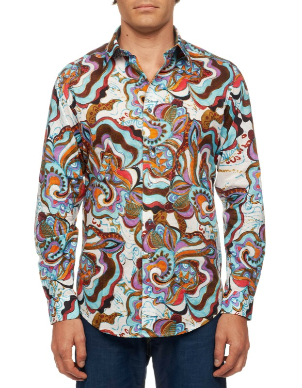 Laurent avenue limited edition for Where are robert graham shirts made